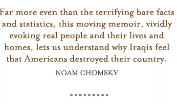 """[a] moving memoir, vividly evoking real people and their lives""-  Noam Chomsky"